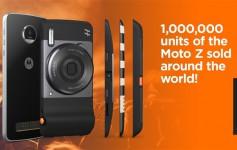 联想宣布Moto Z已卖出100万部!
