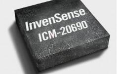 InvenSense发布全球首款同时支持OIS和UI的6轴MEMS传感器