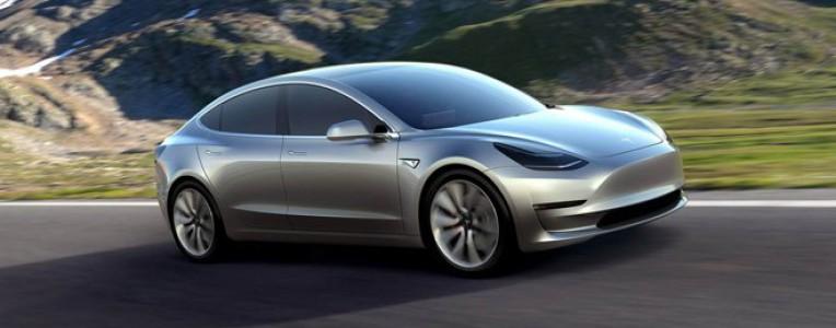 特斯拉Model 3参数全曝光:续航350km、百公里加速仅5.1秒,3.5万美元起售!