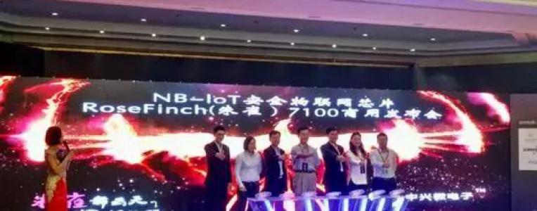 华为迎来强劲对手!中兴微NB-IoT芯片朱雀7100正式商用!