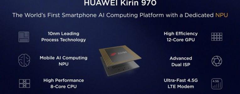 华为麒麟970详解:不止有人工智能的噱头,基带性能也追上了高通!