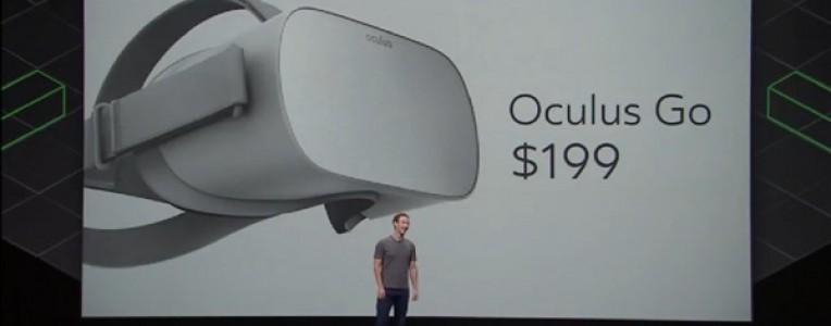 Facebook宣布推出入门级VR一体机Oculus Go,定价199美元!