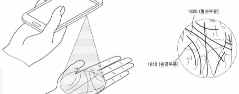 三星新专利曝光,手机要支持掌纹识别?