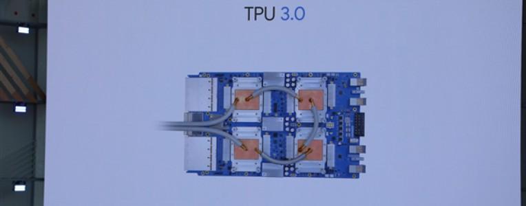 谷歌发布全新AI处理器TPU 3.0:性能暴涨8倍