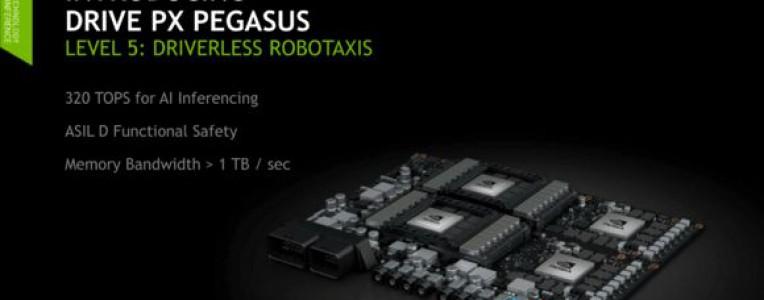 博世、戴姆勒无人驾驶车将采用英伟达AI平台Drive PX Pegasus