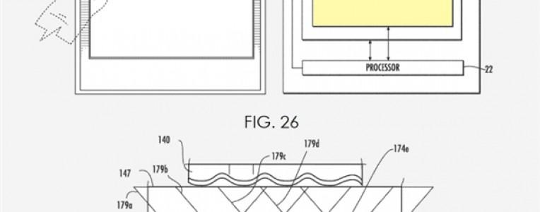 苹果全新屏下指纹专利曝光:将部署多个微孔相机