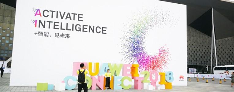 发掘科技亮相2018华为全联接大会:全新AI in Car品牌及多款智能车联网新品曝光