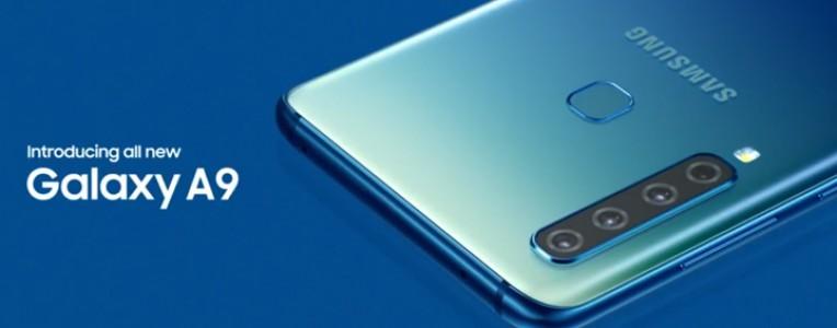 全球首款后置四摄手机:2018款三星Galaxy A9发布,定价549欧元!