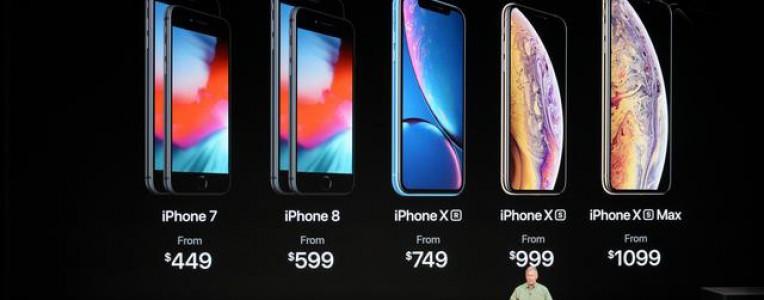 苹果新iPhone销售不利?这四家苹果供应商纷纷下调营收预期!