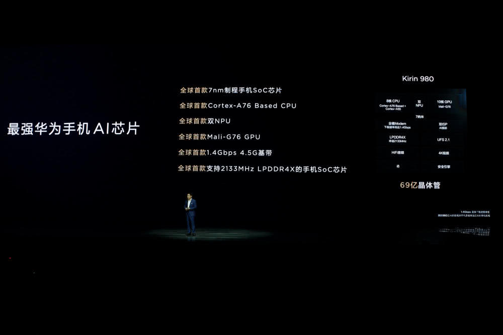 华为Mate20国行发布:麒麟980+徕卡三摄,定价3999元起!-芯智讯