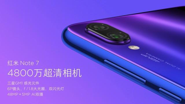 Redmi红米Note7发布:骁龙660+4800万像素镜头,999元起!-芯智讯