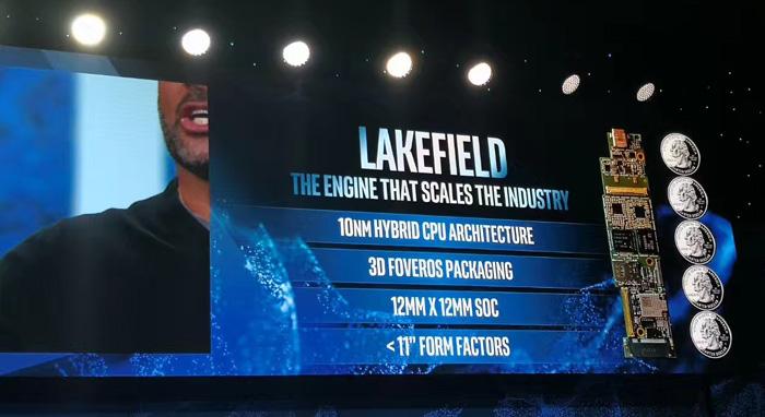 为应对Arm挑战,英特尔也玩大小核?Lakefield处理器发布:10nm工艺,1大核+4小核,Foveros 3D封装-芯智讯