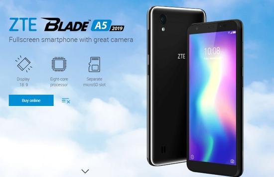 中兴推出新款Blade A5:搭载紫光展锐SC9863A芯片-芯智讯