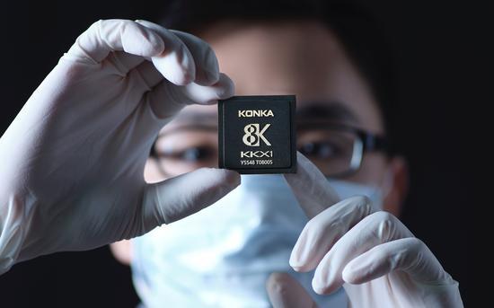康佳首批10万颗存储主控芯片售罄,2020年预计销量1亿颗-芯智讯