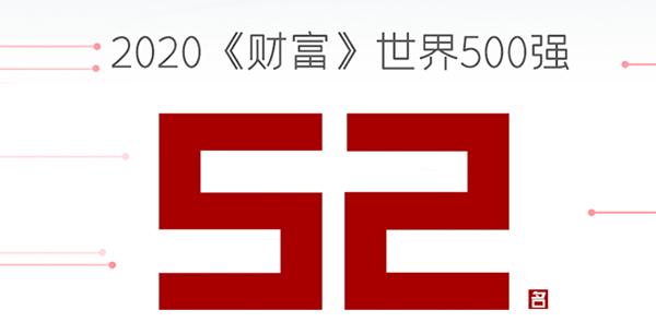 2020年《财富》世界500强排行榜出炉:华为排名第49位,小米排名第422位!-芯智讯