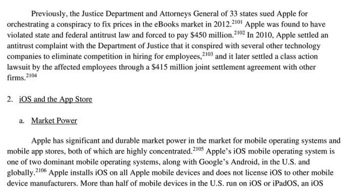 """美国会反垄断报告解读:苹果、谷歌、亚马逊、Facebook的""""12宗罪""""-芯智讯"""