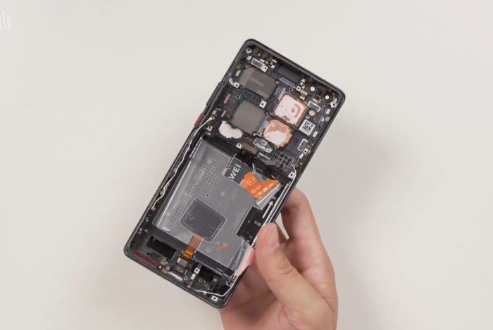 华为Mate40拆解:内部做工精良,采用模块化设计!-芯智讯