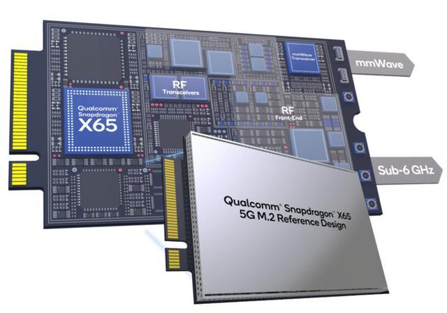 高通推出骁龙X65及X62 5G M.2参考设计,发力5G联网市场-芯智讯